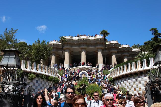 Fanfarella Barcelona Park Guell