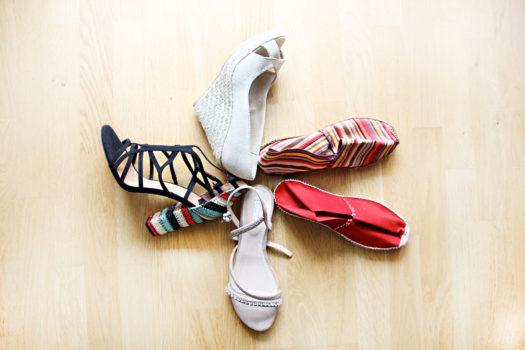 Fünf mal neue Schuhe