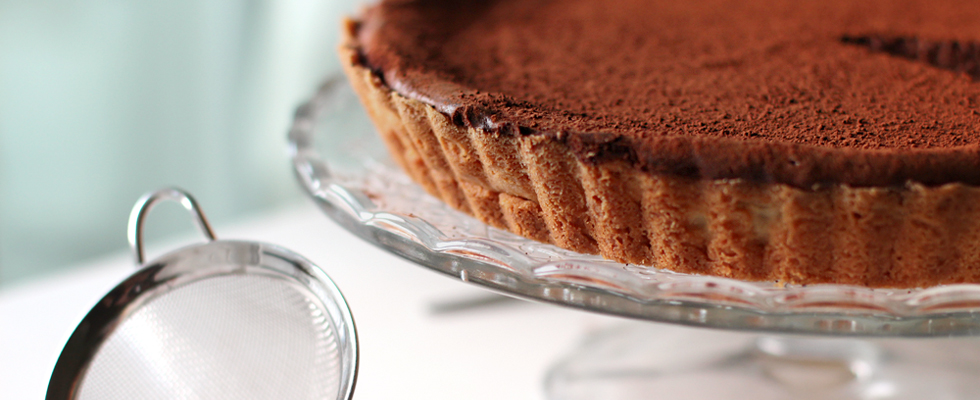 Rezept: Chocolate Cheesecake / www.fanfarella.at