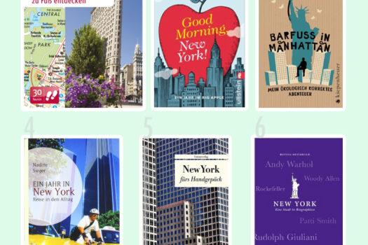Lesestunde: 6 außergewöhnliche New York Reiseführer