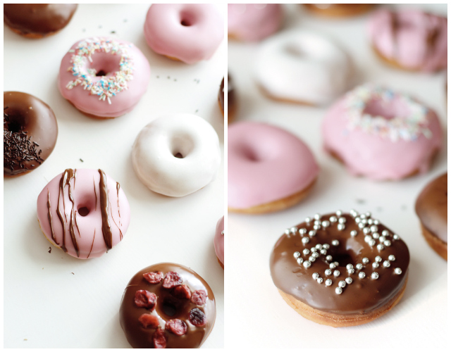 rezept donuts selber machen fanfarella. Black Bedroom Furniture Sets. Home Design Ideas