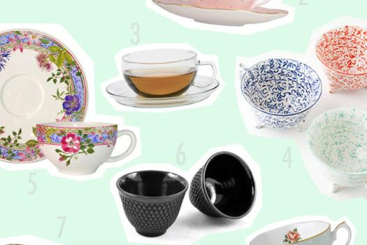Die schönsten Teetassen