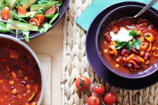 Rezept: Vegetarisches Chili – Chili sin Carne