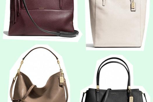 Windowshopping: Welche Coach Handtasche soll's werden?