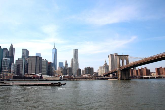 New York Brooklyn Bridge / New York Central Park / https://www.fanfarella.at/travel-diary-new-york-new-york