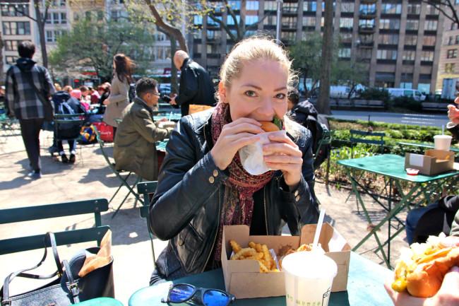 New York Burger / New York Central Park / https://www.fanfarella.at/travel-diary-new-york-new-york