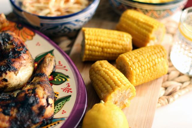 Rezept: Karibisches Jerk Chicken mit Cole Slaw / http://www.fanfarella.at/3hs1
