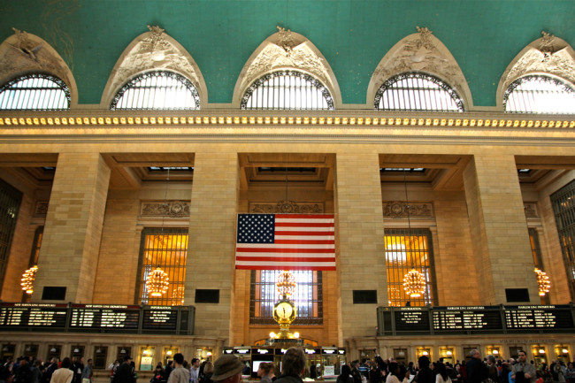 New York Grand Central Station / https://www.fanfarella.at/travel-diary-new-york-new-york