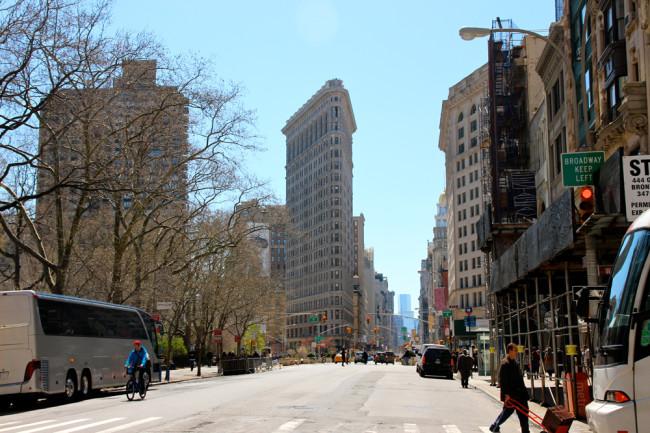 New York Flat Iron Building / https://www.fanfarella.at/travel-diary-new-york-new-york