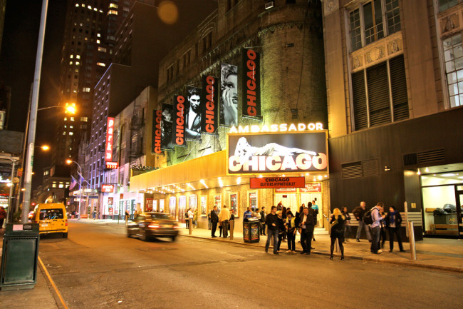 New York Broadway / Chicago / https://www.fanfarella.at/travel-diary-new-york-new-york