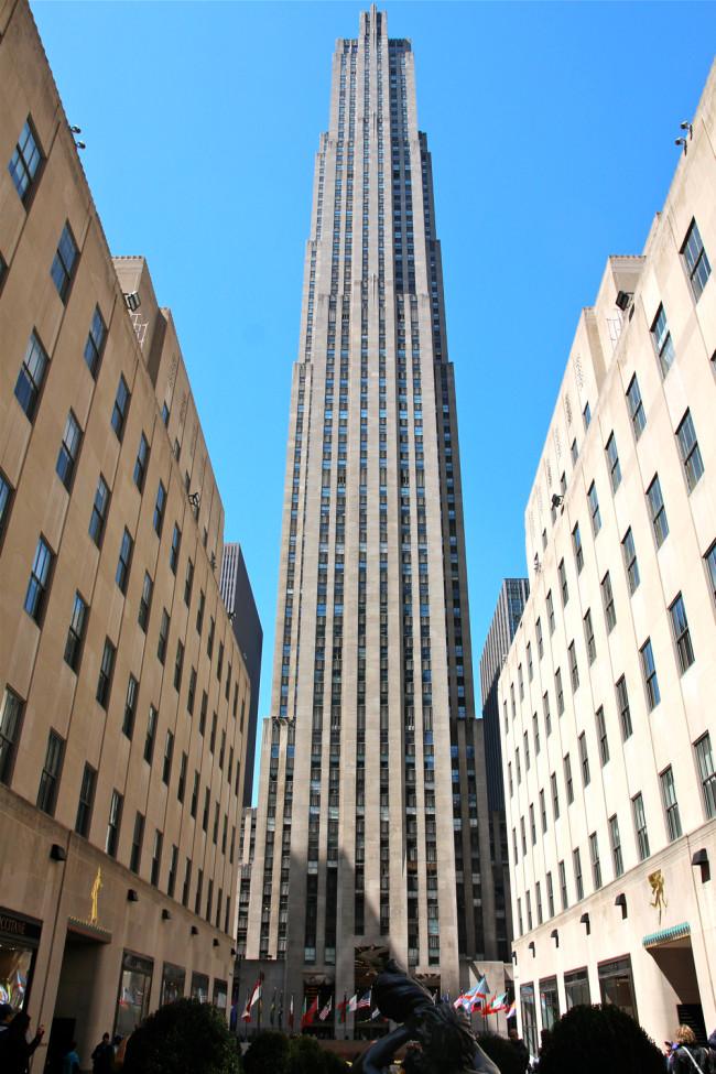 New York / Rockefeller Center / https://www.fanfarella.at/travel-diary-new-york-new-york