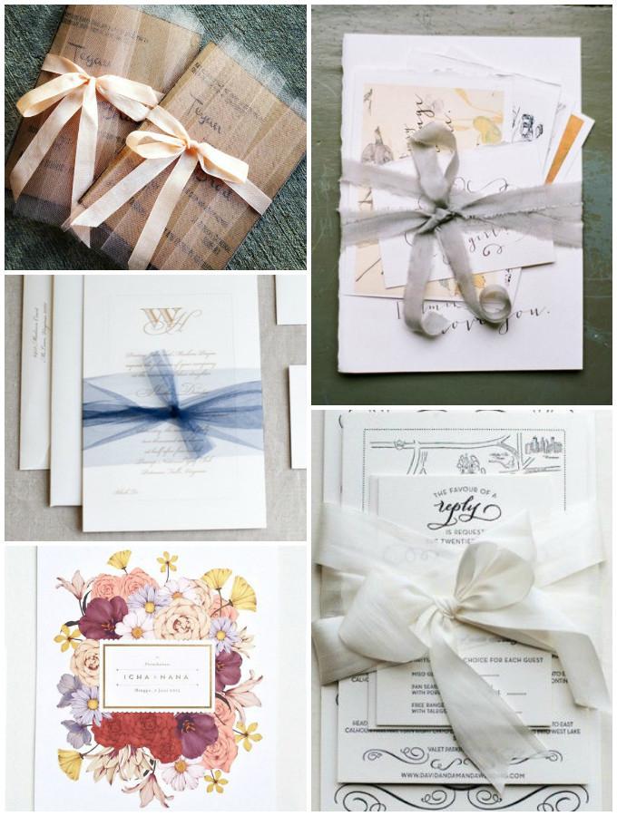 Inspirationen: Ideen für kreative Hochzeitseinladungen