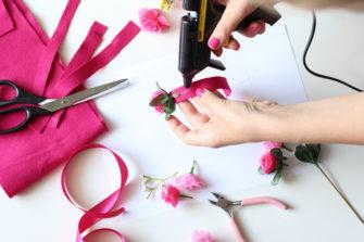 DIY Flowercrown / Do it yourself Blumenhaarband