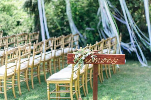 Unsere Hochzeit: Über den Blumenschmuck und die Details